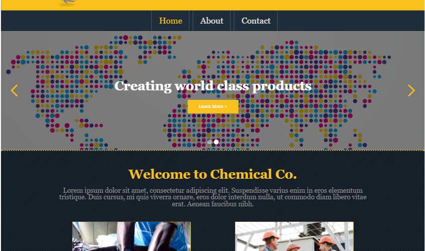 Kanshu-Chemicals (company site) Webflow design by Pixel21