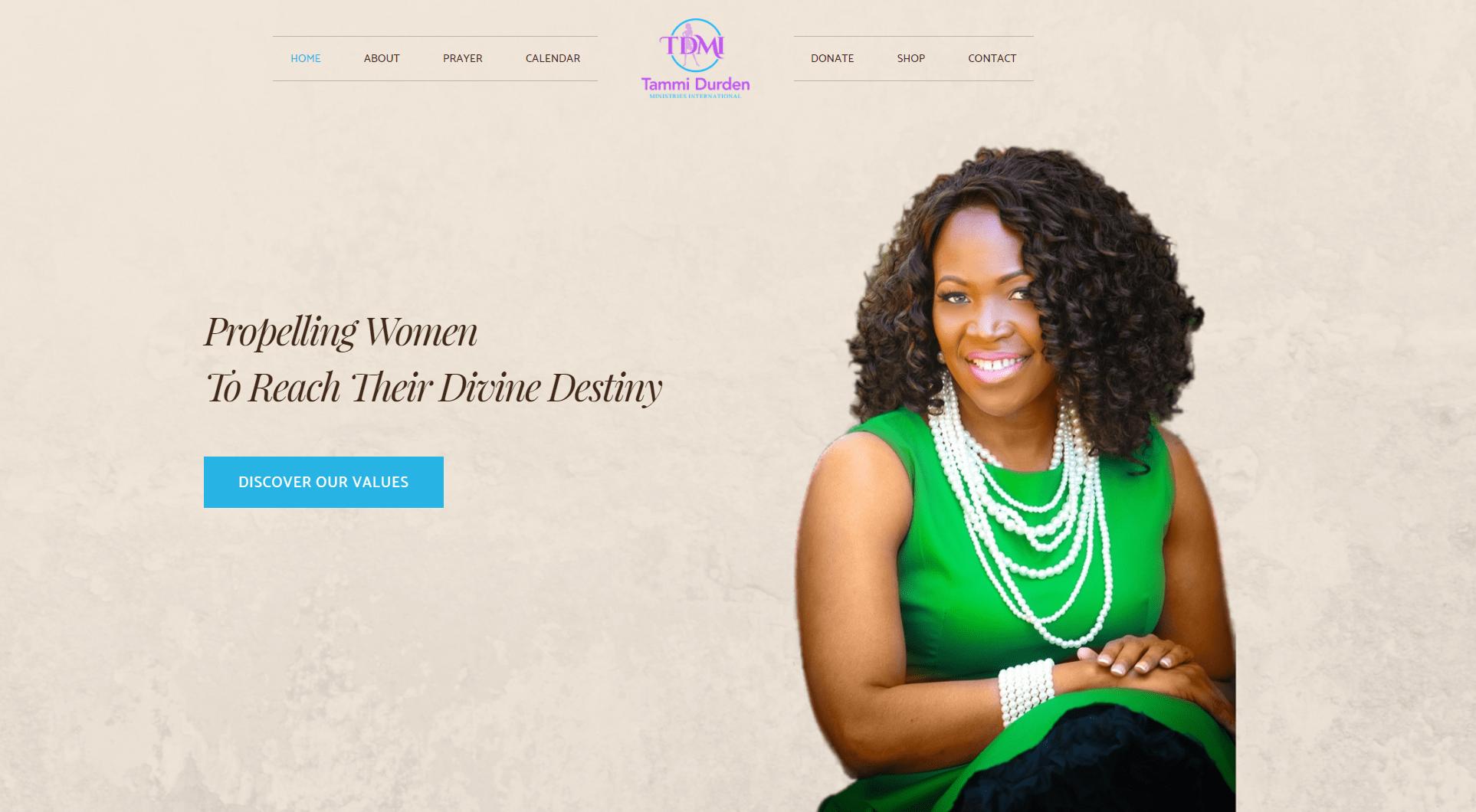 Tammi Durden Website